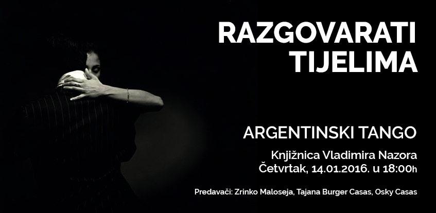 Razgovarati tijelima – predavanje o argentinskom tangu