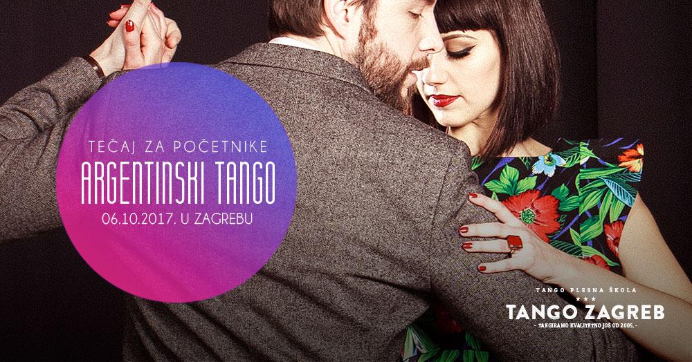 Novi tečaj argentinskog tanga za početnike!